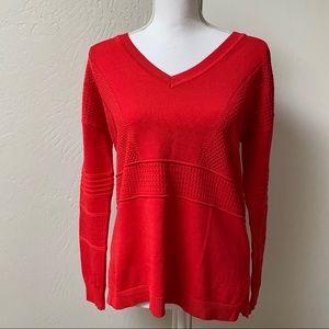 Topshop V-Neck Pullover Sweater